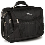 "High Sierra XBT 17"" Laptop Messenger Bag Black 58003"