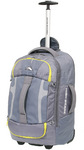 High Sierra Composite Small/Cabin 56cm Wheeled Duffel with Backpack Straps Grey 63216