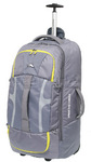 High Sierra Composite Medium 74cm Wheeled Duffel with Backpack Straps Grey 63217