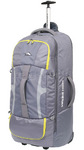 High Sierra Composite Large 84cm Wheeled Duffel with Backpack Straps Grey 63218