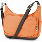 Pacsafe Citysafe LS100 RFID Blocking Anti Theft Tablet Travel Handbag Apricot 20310