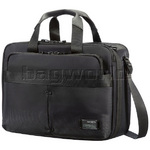 "Samsonite City Vibe 16"" Laptop & Tablet 3 Way Business Expandable Case Jet Black 59559"