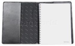 Artex Full Agenda A4 Leather Journal Black A4030