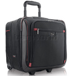 "Solo Executive 16"" Laptop Rolling Overnighter Case Black TL905"
