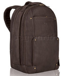 "Solo Vintage 15.6"" Laptop Leather Backpack Espresso TA701"