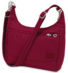Pacsafe Citysafe CS100 RFID Blocking Anti-Theft Tablet Handbag Cranberry 20210