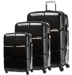 American Tourister Cube Pop Hardside Suitcase Set of 3 After Dark 62360, 62361, 62362 with FREE Samsonite Luggage Scale 34042