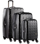 Antler Camden GT Hardside Suitcase Set of 3 Graphite 34426, 34423, 34422 with FREE GO Travel Luggage Scale G2008