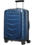 "Samsonite Lite-Biz 16.4"" Laptop & Tablet 55cm Hardside Suitcase Electric Blue 62137"