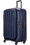 Lojel Hatch Large 73cm Hardside Suitcase Navy JHA74