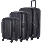 Lojel Hatch Hardside Suitcase Set of 3 Ice Grey JHA55, JHA71, JHA74 with FREE Lojel Luggage Scale OCS27