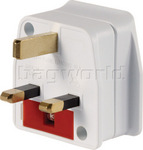 Qantas Travel Accessories British Adaptor Q8106