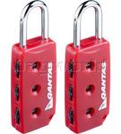 Qantas Travel Accessories Combi Locks Q8124