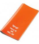 GO Travel Glo Travel Wallet Orange GO310