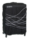 Samsonite Travel Accessories Foldable Luggage Cover Medium Black 57548