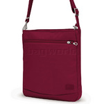 "Pacsafe Citysafe CS175 Anti-Theft 11"" Laptop/Tablet Shoulder Cranberry 20220"