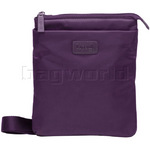 Lipault City Plume Vertical Cross Over Large Bag Purple 53012