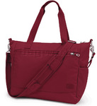 "Pacsafe Citysafe CS400 RFID Blocking Anti Theft 13.3"" Laptop Travel Tote Cranberry 20235"