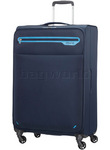 American Tourister Lightway Large 74cm Softside Suitcase Midnight Navy 66143