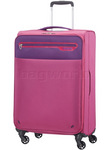 American Tourister Lightway Medium 67cm Softside Suitcase Pink 66142