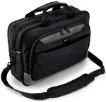 "Targus City Gear II 15-17.3"" Laptop & Tablet Topload Briefcase Black CG470"