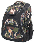 "High Sierra Access 17"" Laptop Backpack Camo 25539"
