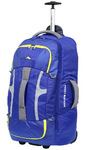 High Sierra Composite Medium 74cm Wheeled Duffel with Backpack Straps Cobalt 63217