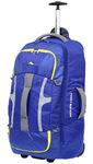 High Sierra Composite Medium 74cm Wheeled Duffel with Backpack Straps Cobalt 63217