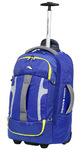 High Sierra Composite Small/Cabin 56cm Wheeled Duffel with Backpack Straps Cobalt 63216