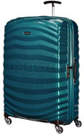 Samsonite Lite-Shock Large 81cm Hardsided Suitcase Petrol Blue 62767