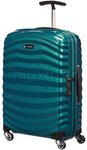 Samsonite Lite-Shock Small/Cabin 55cm Hardsided Suitcase Petrol Blue 62764