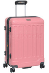 Jeep Canyon Medium 66cm Hardside Suitcase Strawberry Pink 8791B