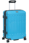 Jeep Canyon Medium 66cm Hardside Suitcase Scuba Blue 8791B