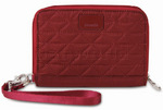 Pacsafe RFIDsafe W150 RFID Blocking Travel Organiser Cranberry 10715