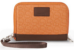 Pacsafe RFIDsafe W150 RFID Blocking Travel Organiser Apricot 10715