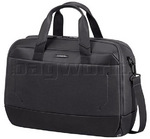 "Samsonite Urban Arc 16"" Laptop & Tablet Briefcase Basalt Black 63999"