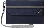 Pacsafe RFIDsafe V250 RFID Blocking Travel Wallet Navy 10570