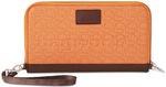 Pacsafe RFIDsafe W250 RFID Blocking Travel Organiser Apricot 10725