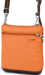 Pacsafe Citysafe LS50 RFID Blocking Anti Theft Cross Body Purse Apricot 20300