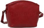 Cellini Tuscany Leather Handbag Red L7381