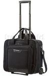 "Samsonite Pro DLX 4 16.4"" Laptop Rolling Tote Bag Black 58985"