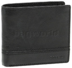 Cellini Aston Men's Leather RFID Blocking Wallet Black MH204