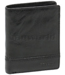 Cellini Aston Men's Leather RFID Blocking Wallet Black MH205
