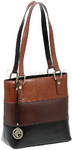Cellini Tuscany Leather Handbag Multi L7588