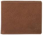 Vault Men's Rugged Vienna Leather RFID Blocking Slimline Wallet Tan VM802