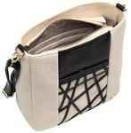 RMK Louisa Body Bag RFID Blocking Handbag White H1166 - 2