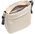 RMK Louisa Body Bag RFID Blocking Handbag White H1166 - 3