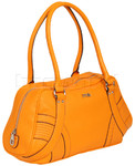 RMK Bilboa Bowler RFID Blocking Handbag Orange H1176