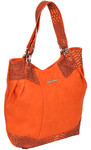 RMK Bold Tote RFID Blocking Handbag Orange H1185