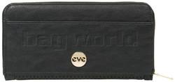 Eve Halo XL Zip Around RFID Blocking Wallet Black EW004